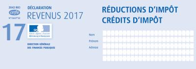 Formulaire pour bénéficier du crédit d'impôt