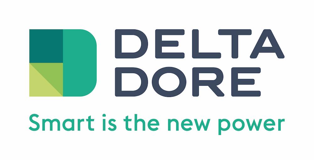 Logo de la marque de thermostat DeltaDore
