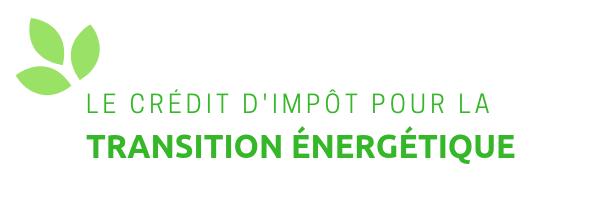 Une aide pour changer de chaudière : le crédit d'impôt pour la transition énergétique