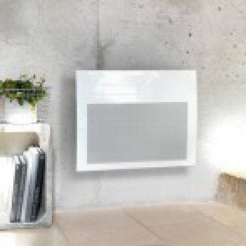 Panneau rayonnant Atlantic solius digital horizontal blanc 1250 W - Ref 423966
